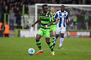 Forest Green Rovers Drissa Traoré(4) during the Vanarama National League match between Forest Green Rovers and Chester FC at the New Lawn, Forest Green, United Kingdom on 14 April 2017. Photo by Shane Healey.