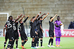 02102018 (Durban) Maritzburg United team during the game of AmaZulu FC takes head on their KwaZulu-Natal rivals Maritzburg United in an Absa Premiership match at the King Zwelithini Stadium in Durban on Tuesday night. Usuthu extended their winless run to three league games when they lost 2-0 to Kaizer Chiefs away in their previous match over a week ago and after losing 6 points.Picture: Motshwari Mofokeng/African News Agency (ANA)