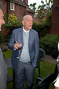 JOHN MALKOVICH, Freud Museum dinner, Maresfield Gardens. 16 June 2011. <br /> <br />  , -DO NOT ARCHIVE-© Copyright Photograph by Dafydd Jones. 248 Clapham Rd. London SW9 0PZ. Tel 0207 820 0771. www.dafjones.com.