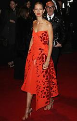 Karolina Kurkova, The British Fashion Awards 2014, The London Coliseum, London UK, 01 December 2014, Photo By Brett D. Cove © Licensed to London News Pictures. 02/12/2014. Brett D Cove/PIQ/LNP