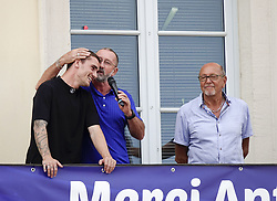 July 20, 2018 - Macon, France - ANTOINE GRIEZMANN ET SON PERE DE RETOUR A MACON .APRES SON TITRE DE CHAMPION DU MONDE (Credit Image: © Panoramic via ZUMA Press)