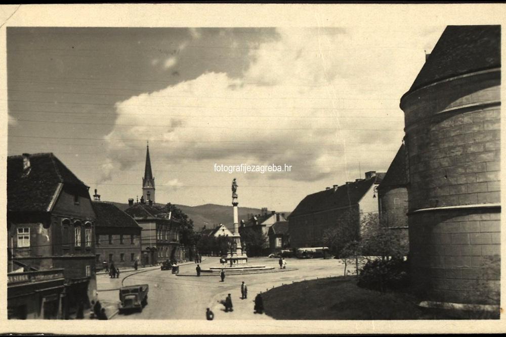 Zagreb.  <br /> <br /> ImpresumS. l. : S. n., [1945].<br /> Materijalni opis1 razglednica : tisak ; 9,4 x 14,7 cm.<br /> Korporativni suradnikR V J FOTO ZAGREB<br /> Vrstavizualna građa • razglednice<br /> ZbirkaGrafička zbirka NSK • Zbirka razglednica<br /> Formatimage/jpeg<br /> PredmetZagreb –– Kaptol<br /> Samostan sv. Franje (Zagreb)<br /> SignaturaRZG-KAP-69<br /> Obuhvat(vremenski)20. stoljeće<br /> NapomenaRazglednica je putovala. • Razglednica je tiskana po fotografiji RVJ FOTO, Zagreb.<br /> PravaJavno dobro<br /> Identifikatori000955638<br /> NBN.HRNBN: urn:nbn:hr:238:525693 <br /> <br /> Izvor: Digitalne zbirke Nacionalne i sveučilišne knjižnice u Zagrebu
