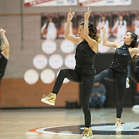 The Gallup Bengals Dance team perform during halftime of  the championship game between Gallup and Piedra Vista at the Gallup Girls Invitational Basketball Tournament Saturday, Dec. 7 at Gallup High School.