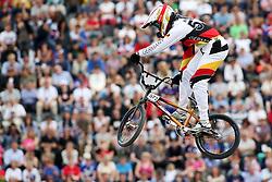Olympics - London 2012 Olympic Games - BMX Track  - 8/8/12.Cycling - Bmx - Men's Seeding Run - BRETHAUER Luis (GER).© pixathlon