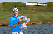 Champion in Paris. Bernd Wiesberger (AUT) wins the Final Round of the 2015 Alstom Open de France, played at Le Golf National, Saint-Quentin-En-Yvelines, Paris, France. /05/07/2015/. Picture: Golffile | David Lloyd<br /> <br /> All photos usage must carry mandatory copyright credit (© Golffile | David Lloyd)