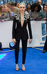 Cara Delevingne attends the Valerian and the City of a Thousand Planets European Premiere at Cineworld in Leicester Square in London on 24 July 2017.<br /><br />24 July 2017.<br /><br />Please byline: Vantagenews.com