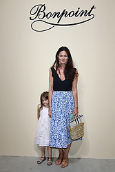 Mimi Thorisson and her daughter attending the Bonpoint Haute Couture Paris Fashion Week Fall/Winter 2018/19 held in Paris, France on july 04, 2018. Photo by Aurore Marechal/ABACAPRESS.COM