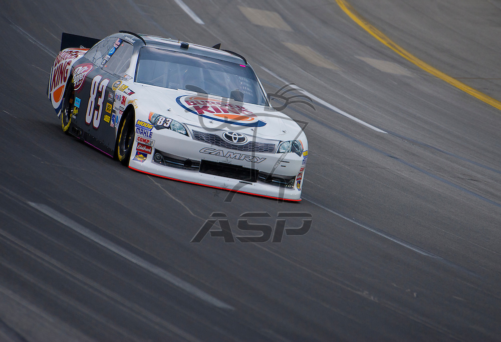 Sparta, KY - JUN 29, 2012: Brian Vickers (83) during qualifying for the Quaker State 400 at Kentucky Speedway in Sparta, KY.