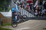 #383 (VERBINNEN Elias) BEL at Round 6 of the 2018 UCI BMX Superscross World Cup in Zolder, Belgium