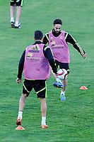 Spanish National Team's  training at Ciudad del Futbol stadium in Las Rozas, Madrid, Spain. In the pic: Carvajal. March 25, 2015. (ALTERPHOTOS/Luis Fernandez)