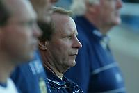 Fotball<br /> Landskamp Ullevaal Stadion 20.08.2003<br /> Norge v Skottland<br /> Berti Vogts - trener Skottland<br /> Foto: Morten Olsen, Digitalsport