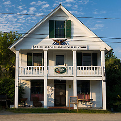 The Guilldhall Village General Store in Guildhall, Vermont.