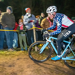 2019-12-29: Cycling: Superprestige: Diegem: US national champion Gage Hecht