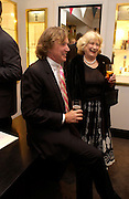 Theo Fennell and Mrs. Charles Carter. Party to celebrate Matthew Pinsent's Testimonial Year. theo Fennell. 5 May 2005.  ONE TIME USE ONLY - DO NOT ARCHIVE  © Copyright Photograph by Dafydd Jones 66 Stockwell Park Rd. London SW9 0DA Tel 020 7733 0108 www.dafjones.com
