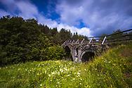 Old otoman bridge in Rhodope Mountains