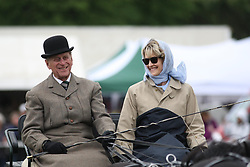 File photo dated 17/05/09 of The Duke of Edinburgh with Lady Brabourne, preparing for the Laurent Perrier Meet of the British Driving Society at the Royal Windsor Horse Show in Berkshire. The Duke of Edinburgh was linked to many glamorous women, but those close to Philip always insisted claims of affairs were untrue. Issue date: Friday April 9, 2021.