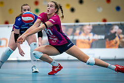 Jolien Knollema of Eurosped in action during the league match Talentteam Papendal vs.  Eurosped on January 23, 2021 in Ede.