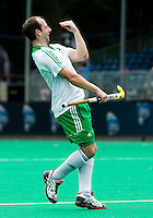 ANTWERP -    Peter Caruth  scored 2-0 during  the hockeymatch for the 5th place between Ireland an d Malaysia.   WSP COPYRIGHT KOEN SUYK
