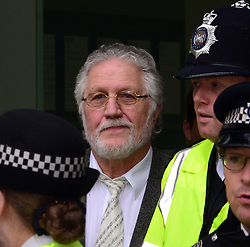 David Lee Travis in Court. <br /> Former BBC Radio 1 DJ David Lee Travis appears in court for alleged indecent assault charges, Westminster Magistrates' Court, London, United Kingdom. Thursday, 3rd October 2013. Picture by Nils Jorgensen / i-Images