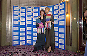 Gabby Roslin and Cherie Booth, at the Sargent Cancer Care for children annual charity gala, Park Lane hotel, © Copyright Photograph by Dafydd Jones 66 Stockwell Park Rd. London SW9 0DA Tel 020 7733 0108 www.dafjones.com
