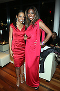 """l to r: Shaun Robinson and Kenya Moore at """" The Obama That One: A Pre-Inagural Gala Celebrating the Victory of President-Elect Obama celebration held at The Newseum in Washington, DC on January 18, 2009  .."""