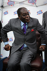 File picture taken on shows Zimbabwe president Robert Mugabe in Harare on April 2010. Zimbabwe's first post-independence leader Robert Mugabe has died aged 95. He was ousted in a military coup in November 2017, ending three decades in power. He won Zimbabwe's first election after independence, becoming prime minister in 1980. He abolished the office in 1987, becoming president instead. Photo by Aghvami/iran Images/Parspix/ABACAPRESS.COM