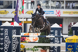 Babes Stacy (GBR) - Pembrook Milenia<br /> Final 5 years<br /> FEI World Breeding Jumping Championships for Young Horses - Lanaken 2014<br /> © Dirk Caremans