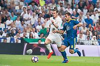 "Real Madrid's player Gareth Bale and Celta de Vigo's player Jonathan Castro ""Jonny"" during a match of La Liga Santander at Santiago Bernabeu Stadium in Madrid. August 27, Spain. 2016. (ALTERPHOTOS/BorjaB.Hojas)"