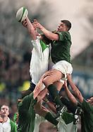 Ireland V South Africa 1998
