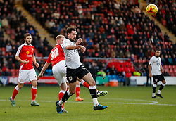 Greg Cunningham of Bristol City in action - Photo mandatory by-line: Rogan Thomson/JMP - 07966 386802 - 20/12/2014 - SPORT - FOOTBALL - Crewe, England - Alexandra Stadium - Crewe Alexandra v Bristol City - Sky Bet League 1.
