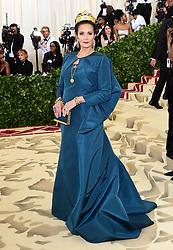 Lynda Carter attending the Metropolitan Museum of Art Costume Institute Benefit Gala 2018 in New York, USA.