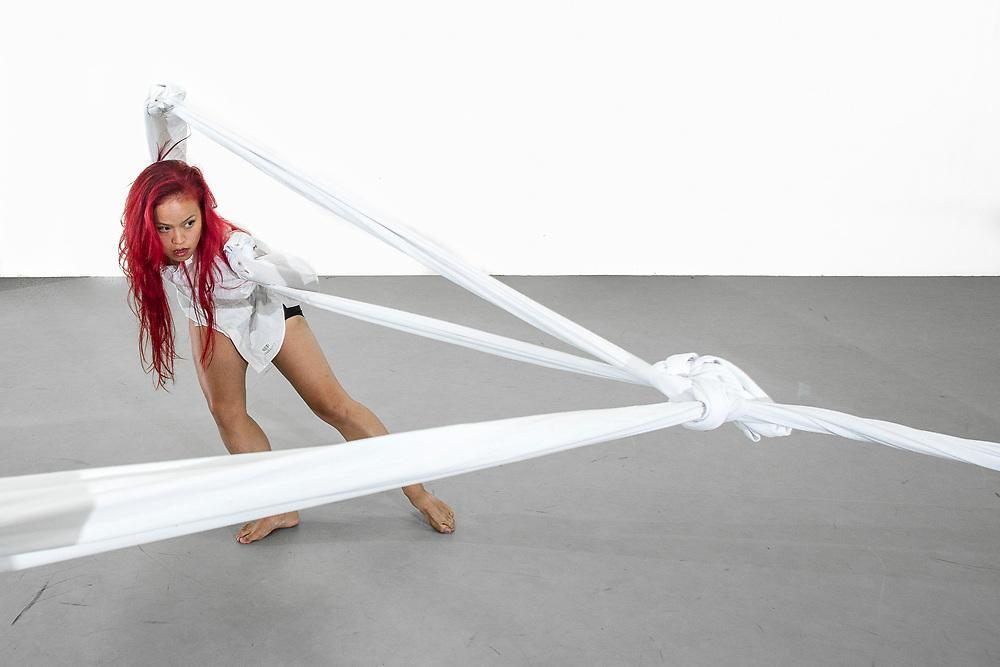 Naoko Brown dancing for Prometheus