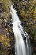 Divach Falls, Glen Urquhart, Drumnadrochit, Scottish Highlands, Uk