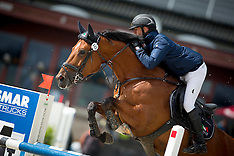 6  jaar spring paarden - Moorsele 2016