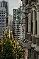 Architecture from Telegraph Hill to Downtown SF