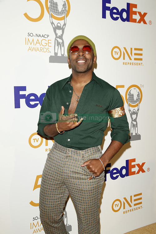 March 9, 2019 - Los Angeles, CA, USA - LOS ANGELES - MAR 9:  Major at the 50th NAACP Image Awards Nominees Luncheon at the Loews Hollywood Hotel on March 9, 2019 in Los Angeles, CA (Credit Image: © Kay Blake/ZUMA Wire)
