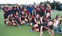 UTRECHT - finale van het NK  Veteranen A hockey . Amsterdam Veteranen Heren A wint de landstitel.   COPYRIGHT KOEN SUYK
