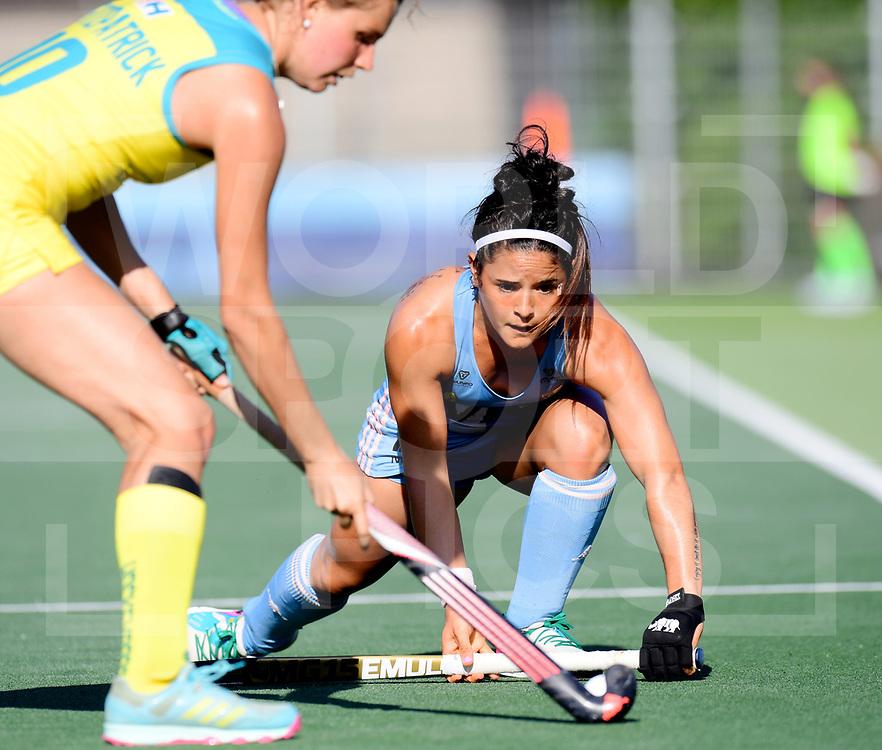 AMSTELVEEN- FIH Pro League<br /> Argentina v Australia (Semi Final 2)<br /> Picture: Maria-Jose Granatto <br /> WORLDSPORTPICS COPYRIGHT FRANK UIJLENBROEK