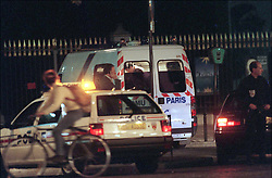 File photo taken on August 31, 1997 - Princess Diana who was still alive after her terrible car crash who occured under Alma bridge's tunnel receives emergency treatment into a medical unit which had to stop several time on the way to the hospital due to the very bad condition of Princess Diana, nevertheless she died few instants later. Princess Diana died on August 31 1997 after suffering fatal injures in a car crash in the Pont de l'Alma road tunnel in Paris. Her companion Dodi Fayed and driver and security guard Henri Paul were also killed in the crash. Photo by ABACAPRESS.COM
