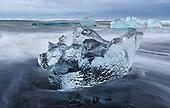 Iceland- Icebergs-Glaciers-Diamond Beach-Glacier Bay