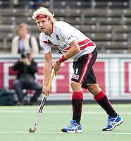 AMSTELVEEN - Floris Evers van Amsterdam tijdens de hockey hoofdklassewedstrijd tussen de mannen van Amsterdam en Den Bosch (5-5). COPYRIGHT KOEN SUYK