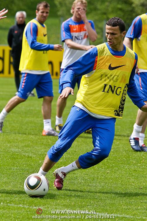 AUS/Seefeld/20100530 - Training NL Elftal WK 2010, Khalid Boularouz