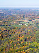 Aerial view of Richland County, Wisconsin.