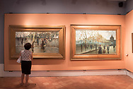 Twentieth Century Art at GAM, Galleria Arte Moderna, involved in the project of cultural capital