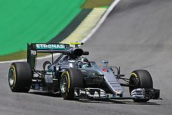Nico Rosberg (GER) Mercedes AMG F1 W07 Hybrid.<br /> 11.11.2016. Formula 1 World Championship, Rd 20, Brazilian Grand Prix, Sao Paulo, Brazil, Practice Day.<br /> Copyright: Moy / XPB Images / action press