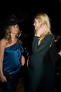 LUCY YEOMANS; CLAUDIA SCHIFFER, British Fashion Awards Ceremony. Supported by Swarovski and organised by British Fashion Council. Lawrence Hall. Greycoat St. London SW1. 25 November 2008 *** Local Caption *** -DO NOT ARCHIVE-© Copyright Photograph by Dafydd Jones. 248 Clapham Rd. London SW9 0PZ. Tel 0207 820 0771. www.dafjones.com.