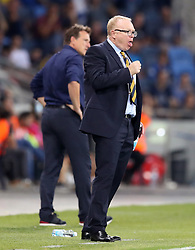 Scotland manager Alex McLeish on the touchline during the UEFA Nations League Group C1 match at the Sammy Ofer Stadium, Haifa.