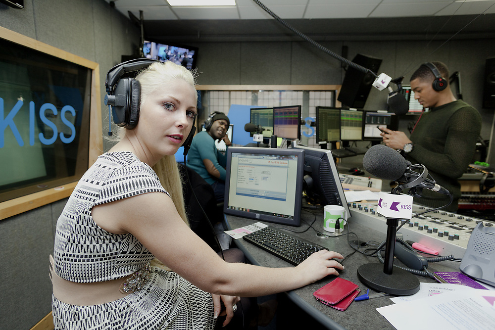 Charlie Hedges Kiss FM