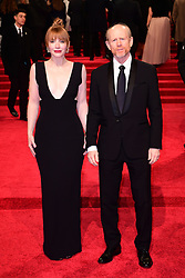 Bryce Dallas Howard and Ron Howard attending the EE British Academy Film Awards held at the Royal Albert Hall, Kensington Gore, Kensington, London. PRESS ASSOCIATION Photo. Picture date: Sunday 12 February 2017. See PA Story SHOWBIZ Bafta. Photo credit should read: Ian West/PA Wire