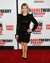 May 1, 2019 - MELISSA RAUCH attends The Big Bang Theory's Series Finale Party at the The Langham Huntington. Photo Credit: Billy Bennight/AdMedia (Credit Image: © Billy Bennight/ZUMA Wire)